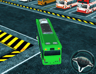 Bus Man Parking 3D Game